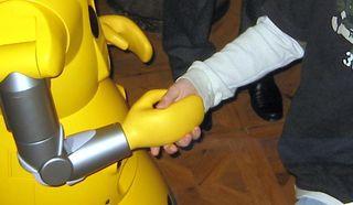 Robothandshake